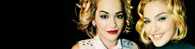 Rita is the new face of Material Girl!