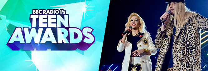 Rita nominated for 'Best British Solo Artist' @ the Teen Awards