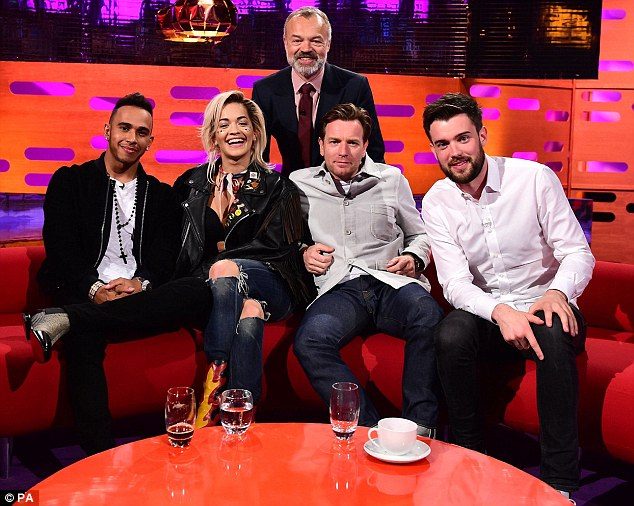 Photos/Video: Rita on The Graham Norton Show